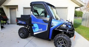 Polaris Ranger XP UTV graphics from Mayville, Wisconsin