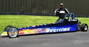 Jr. dragster race car wrap for Stellmacher Racing Fond du Lac, Wisconsin