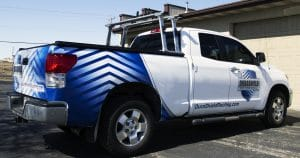 Toyota Tundra truck wrap from Appleton, Wisconsin